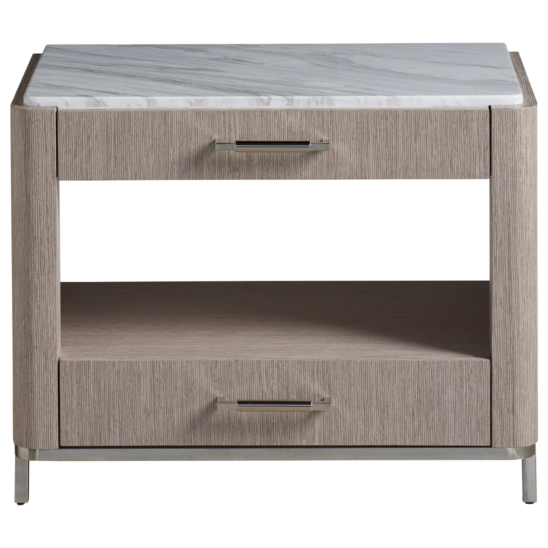 Modern Soren Bedside Table by Universal at Baer's Furniture