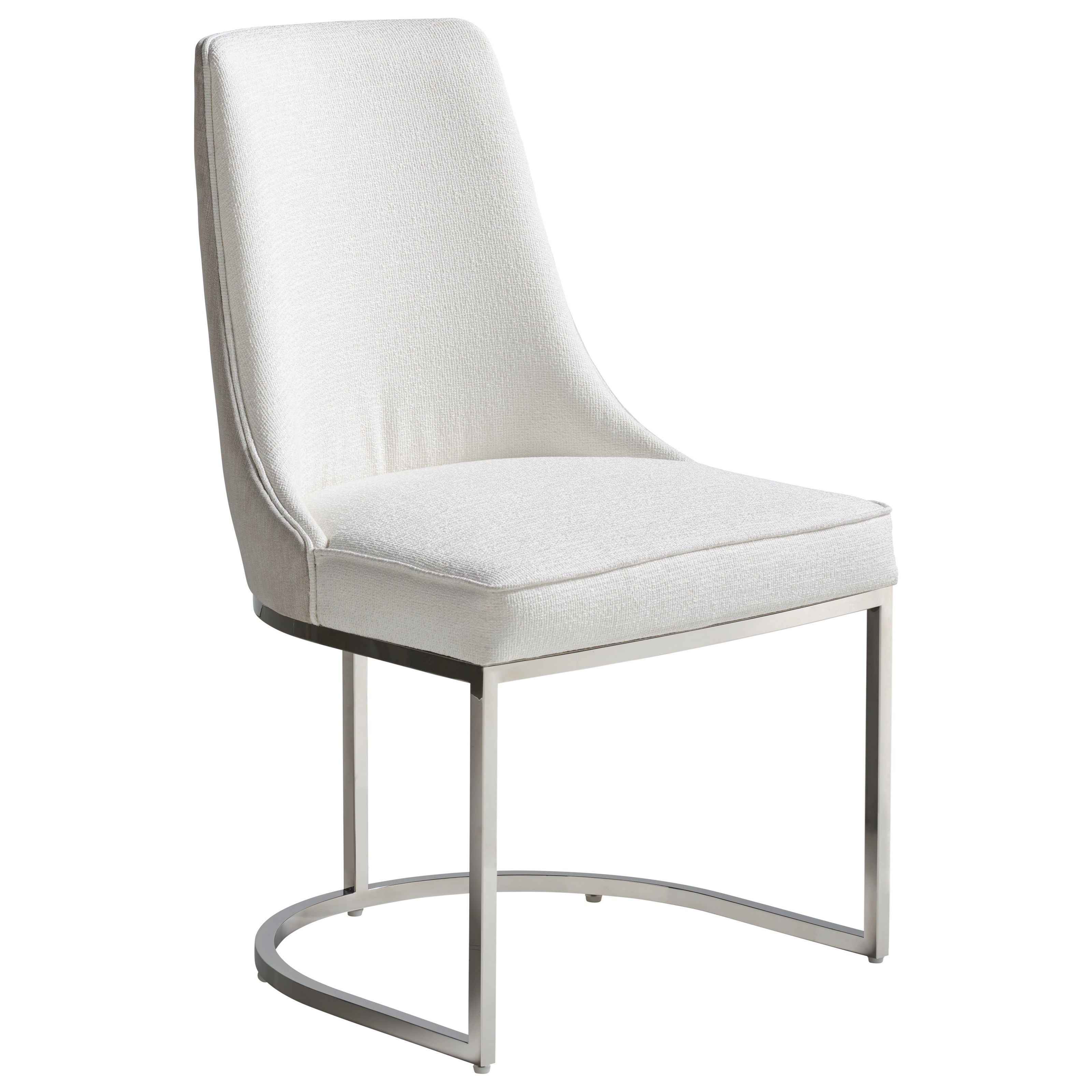 Modern Colt Dining Chair - Hyde Snow/Sorrel by Universal at Baer's Furniture