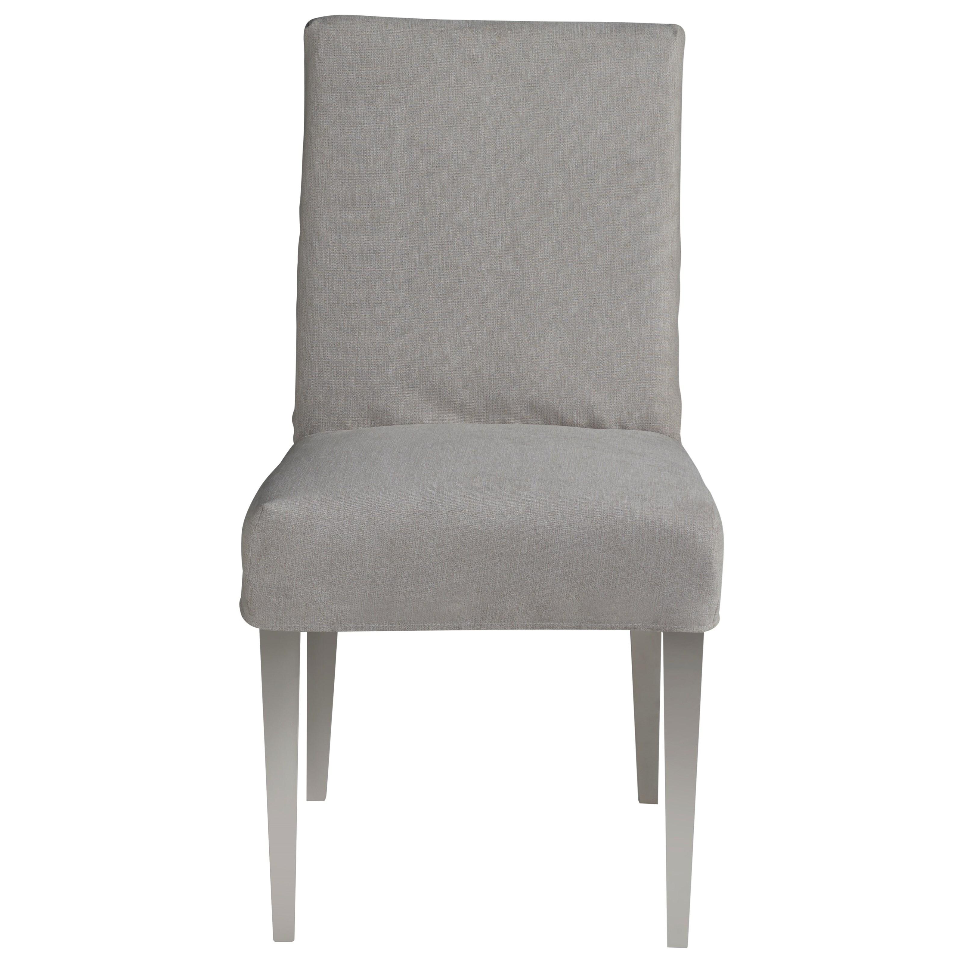 Modern Jett Slip Cover Side Chair - Sorrel by Universal at Baer's Furniture