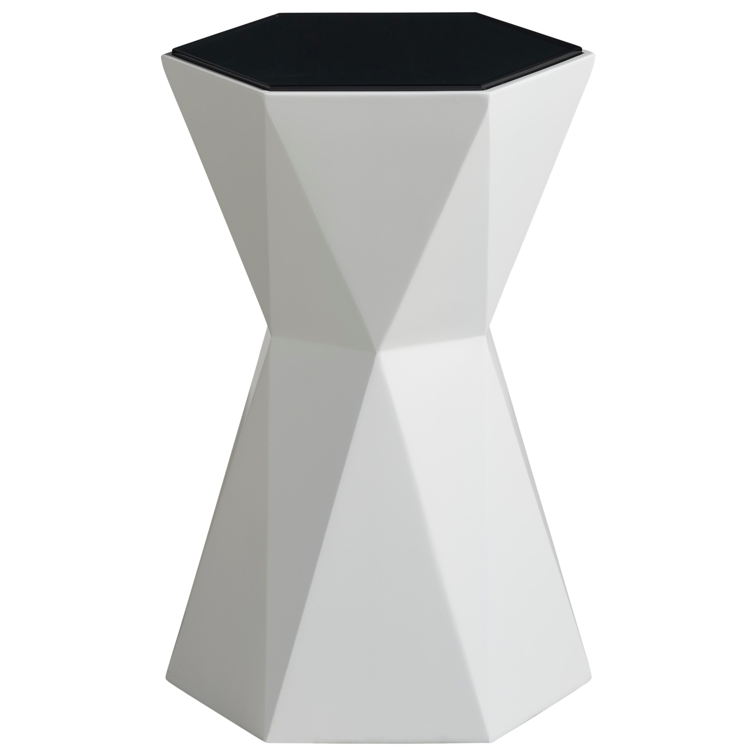 Modern Hexagon Martini Table by Universal at Baer's Furniture