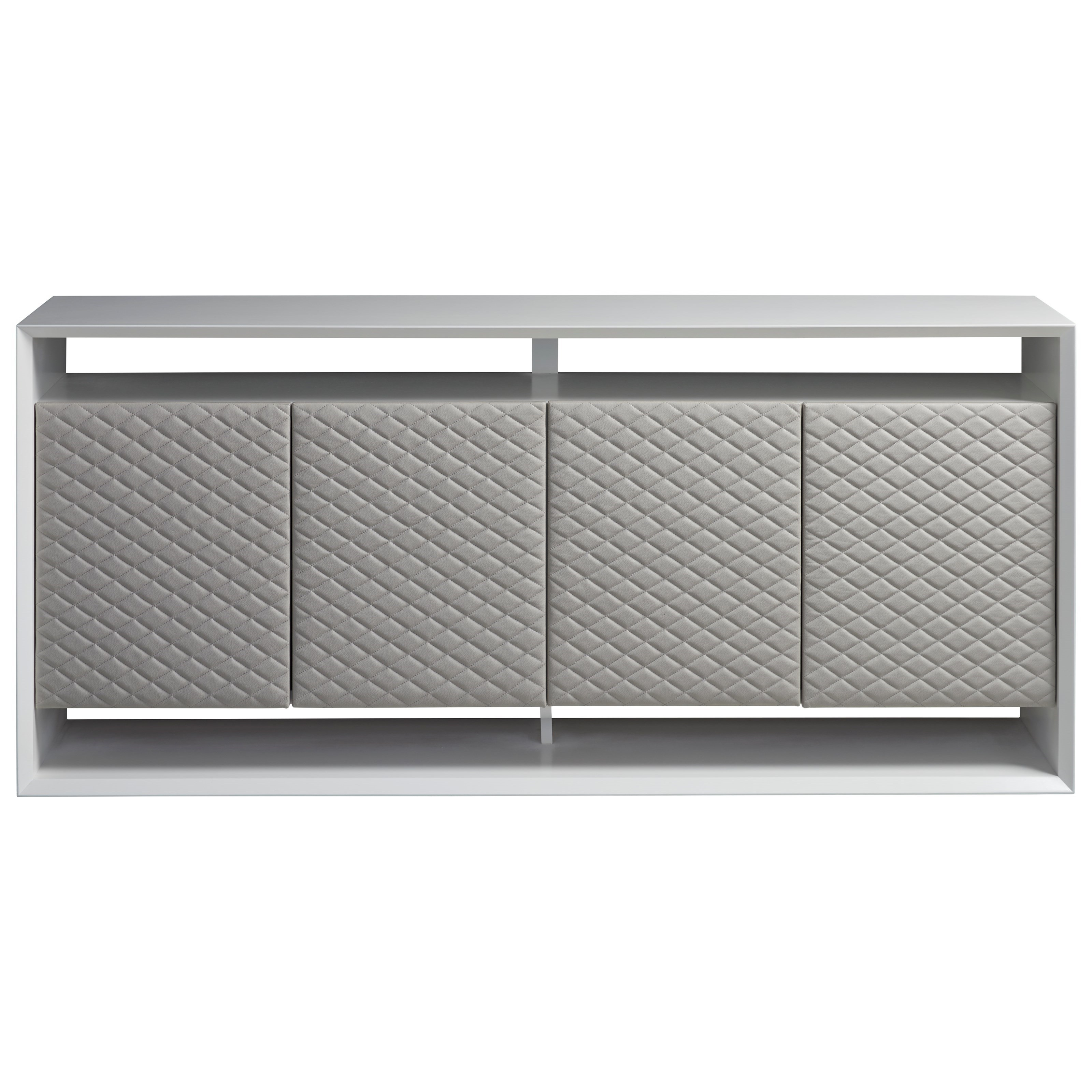 Modern Reynolds Entertainment Console by Universal at Baer's Furniture