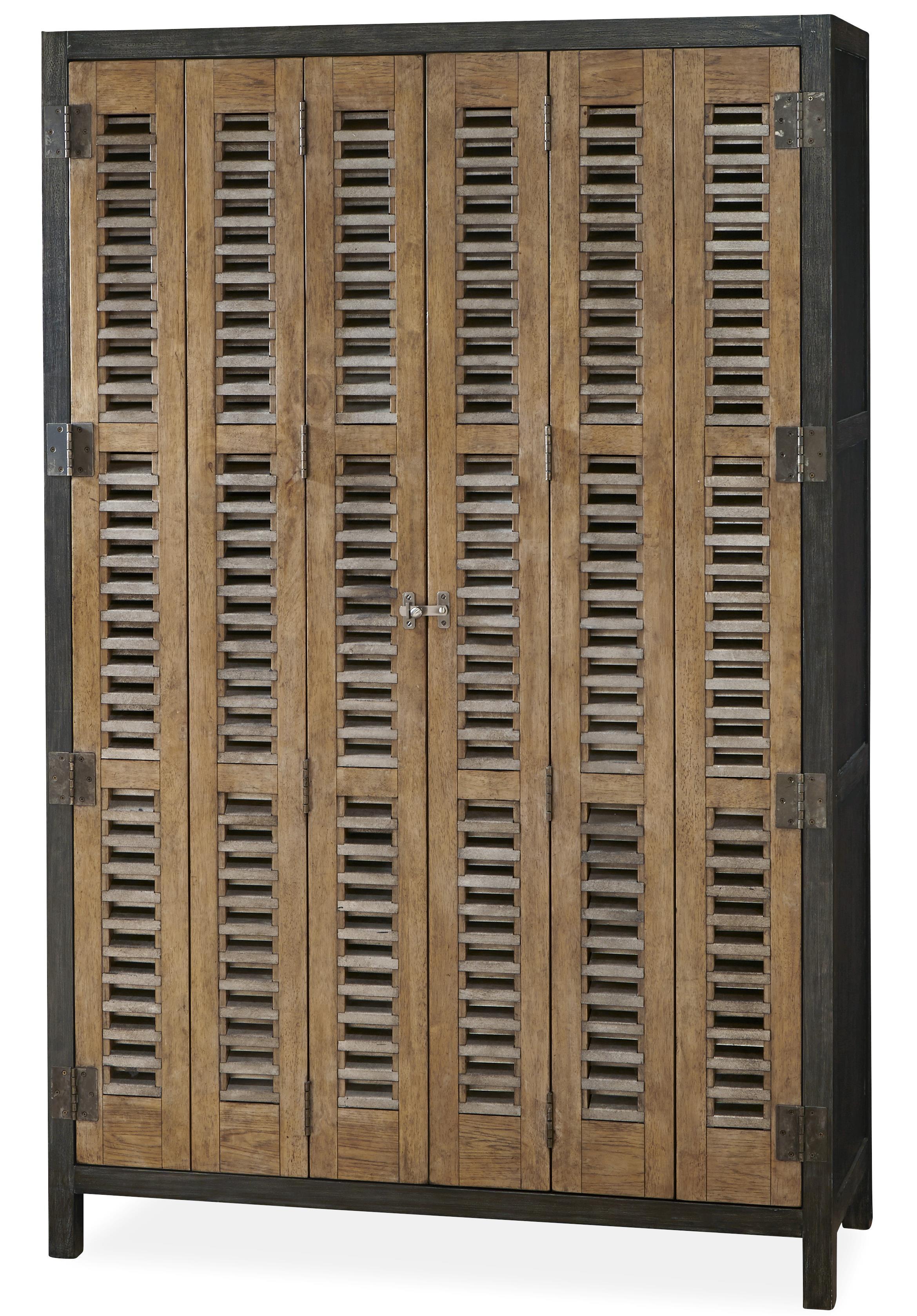 Moderne Muse Libations Locker by Universal at Suburban Furniture