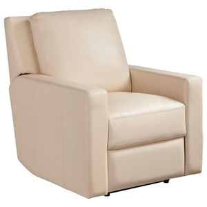 Contemporary Carter Motion Chair with Power Recline