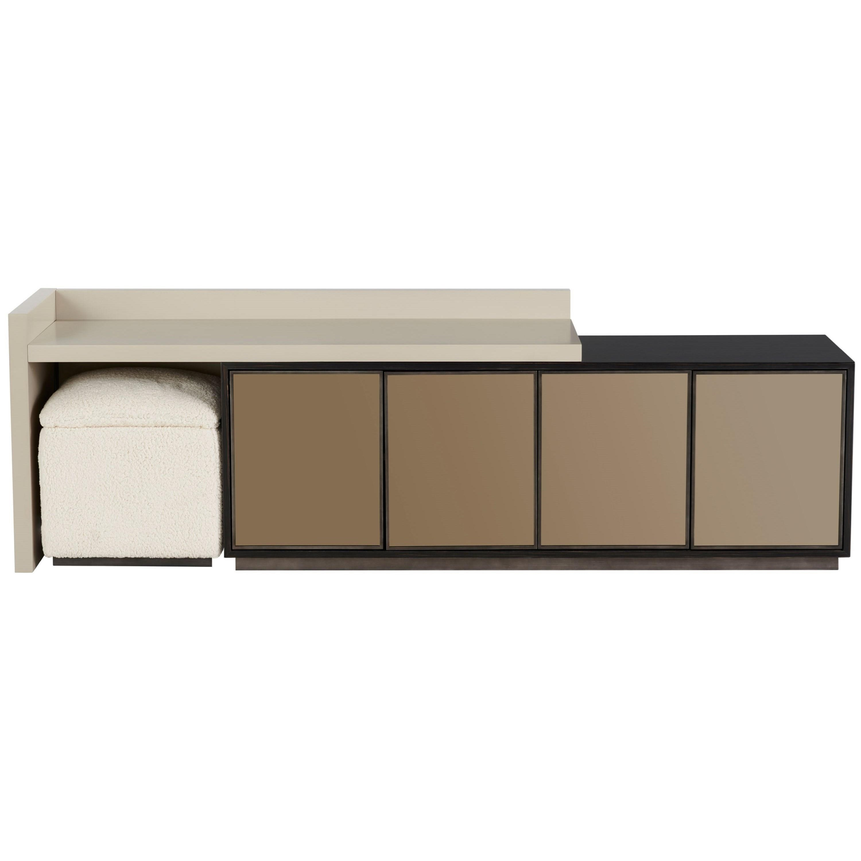 Nina Magon 941 Heath Entertainment Console by Universal at Baer's Furniture