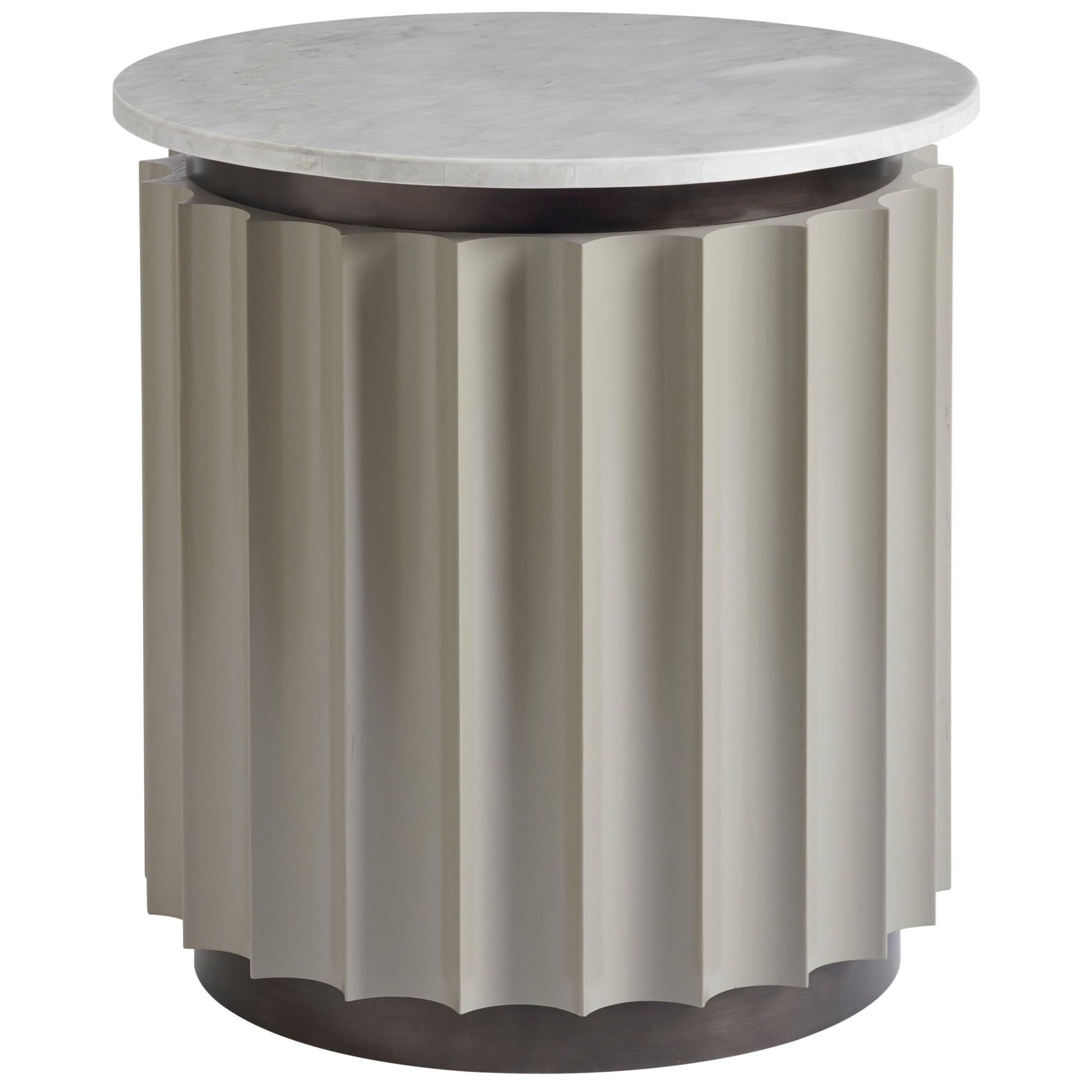 Nina Magon 941 Rockwell Round End Table by Universal at Zak's Home