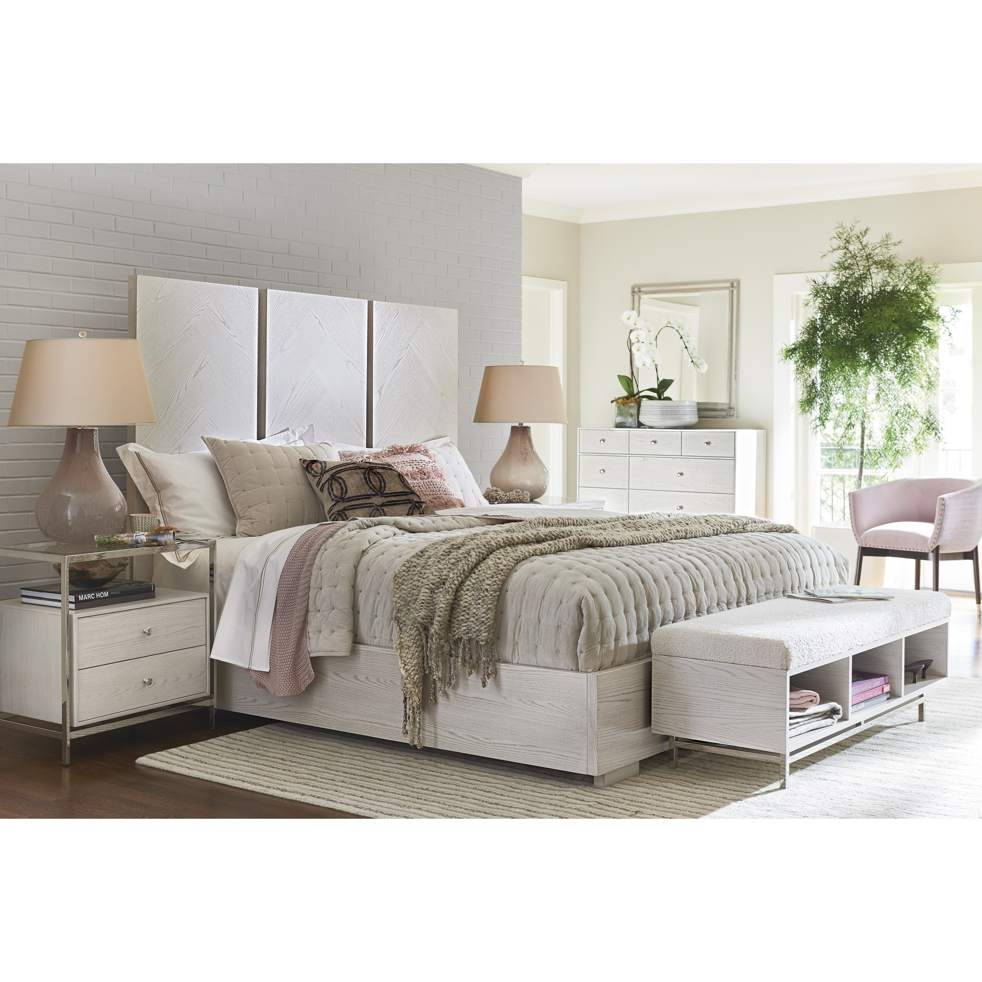 Paradox Queen Bedroom Group by Universal at Baer's Furniture