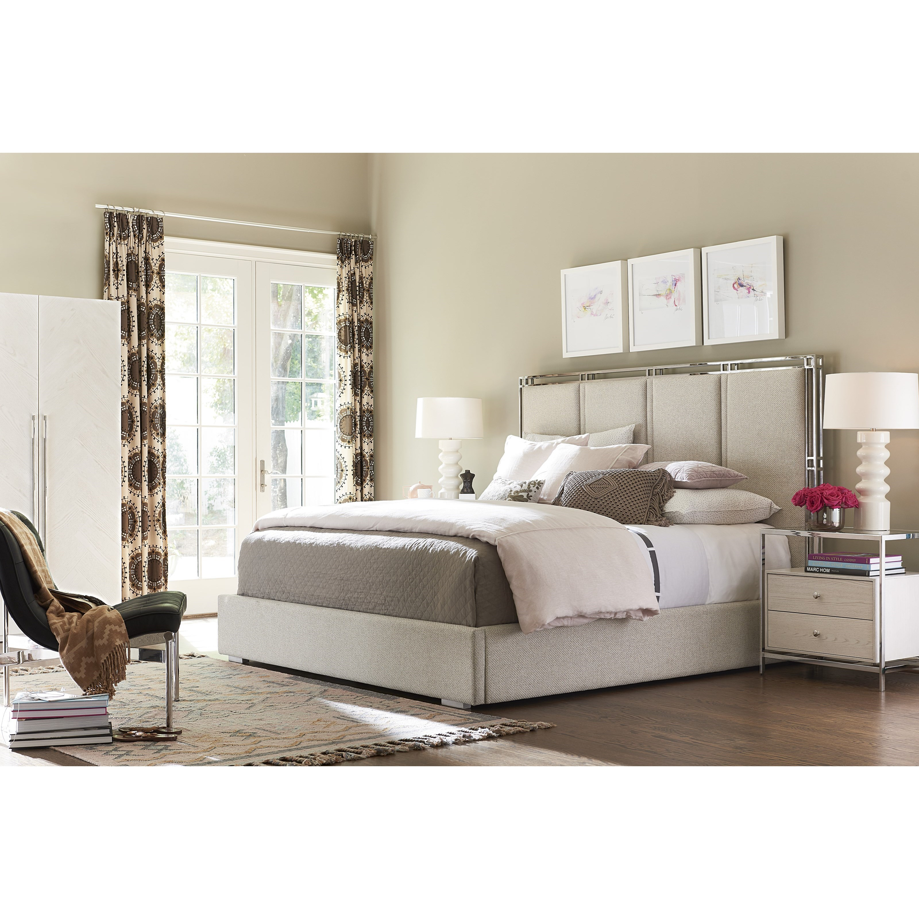 Paradox King Bedroom Group by Universal at Baer's Furniture