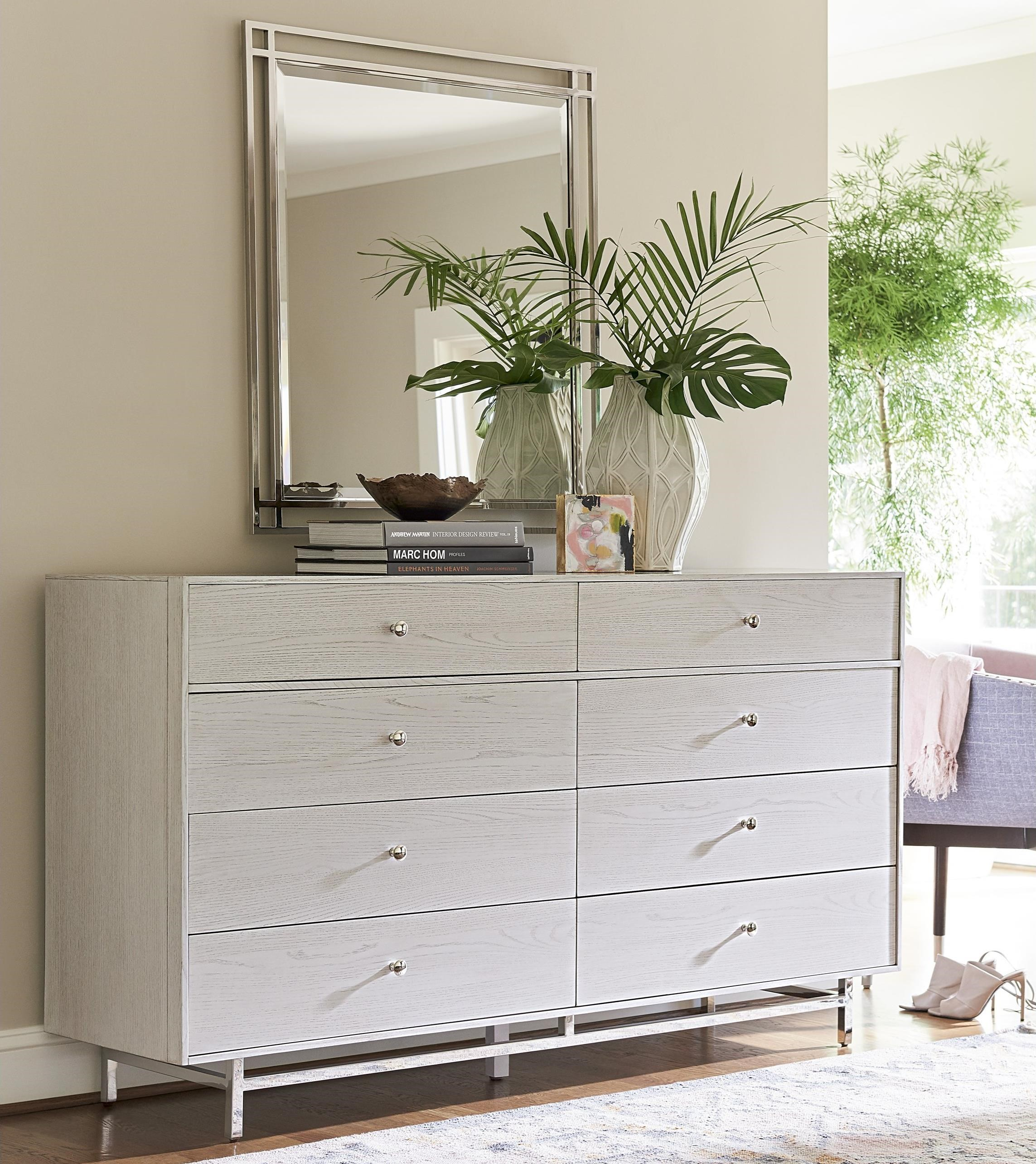 Paradox Dresser and Mirror Combo by Universal at Baer's Furniture