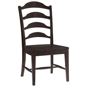 Traditional Side Chair with Ladderback