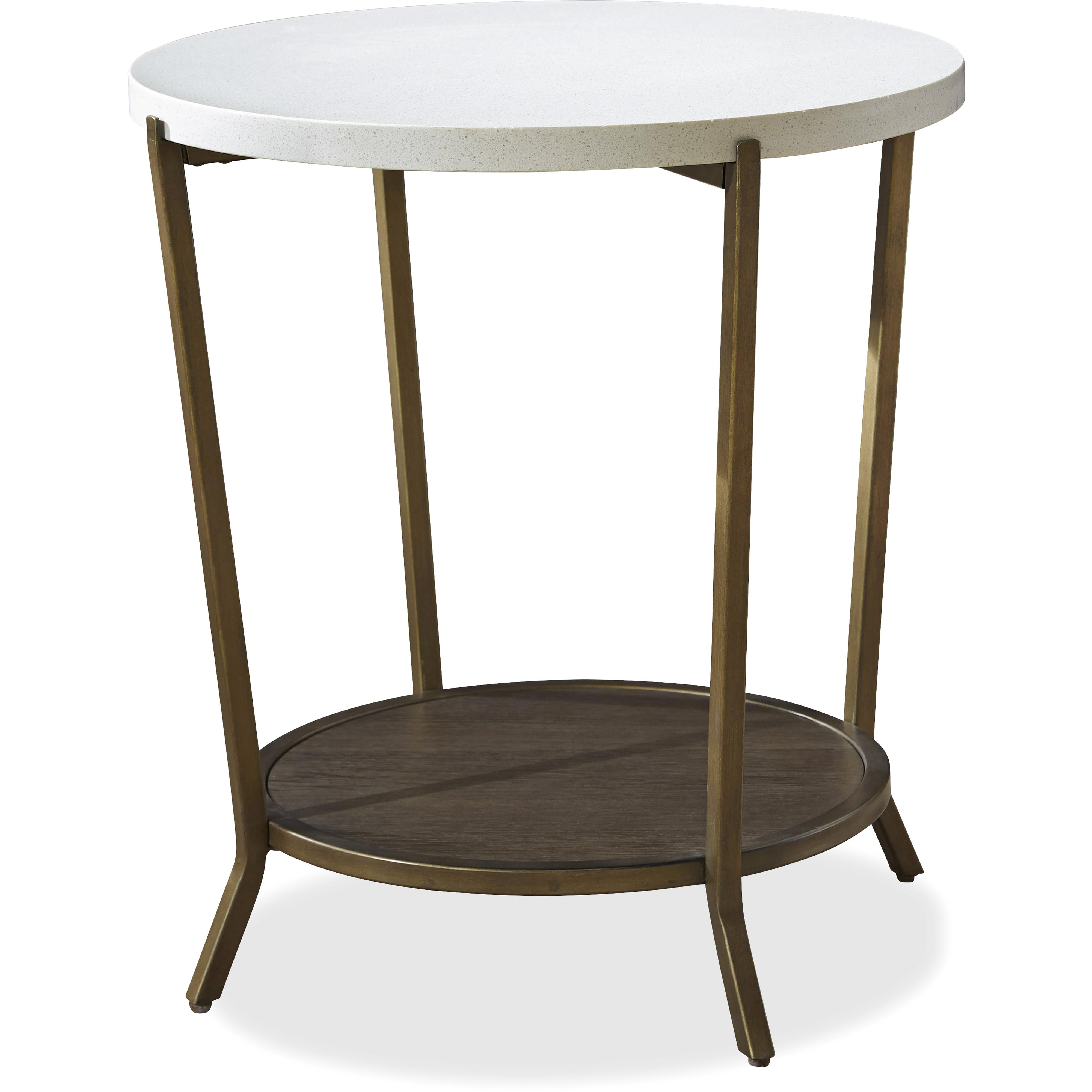 Playlist Round End Table by Universal at Baer's Furniture
