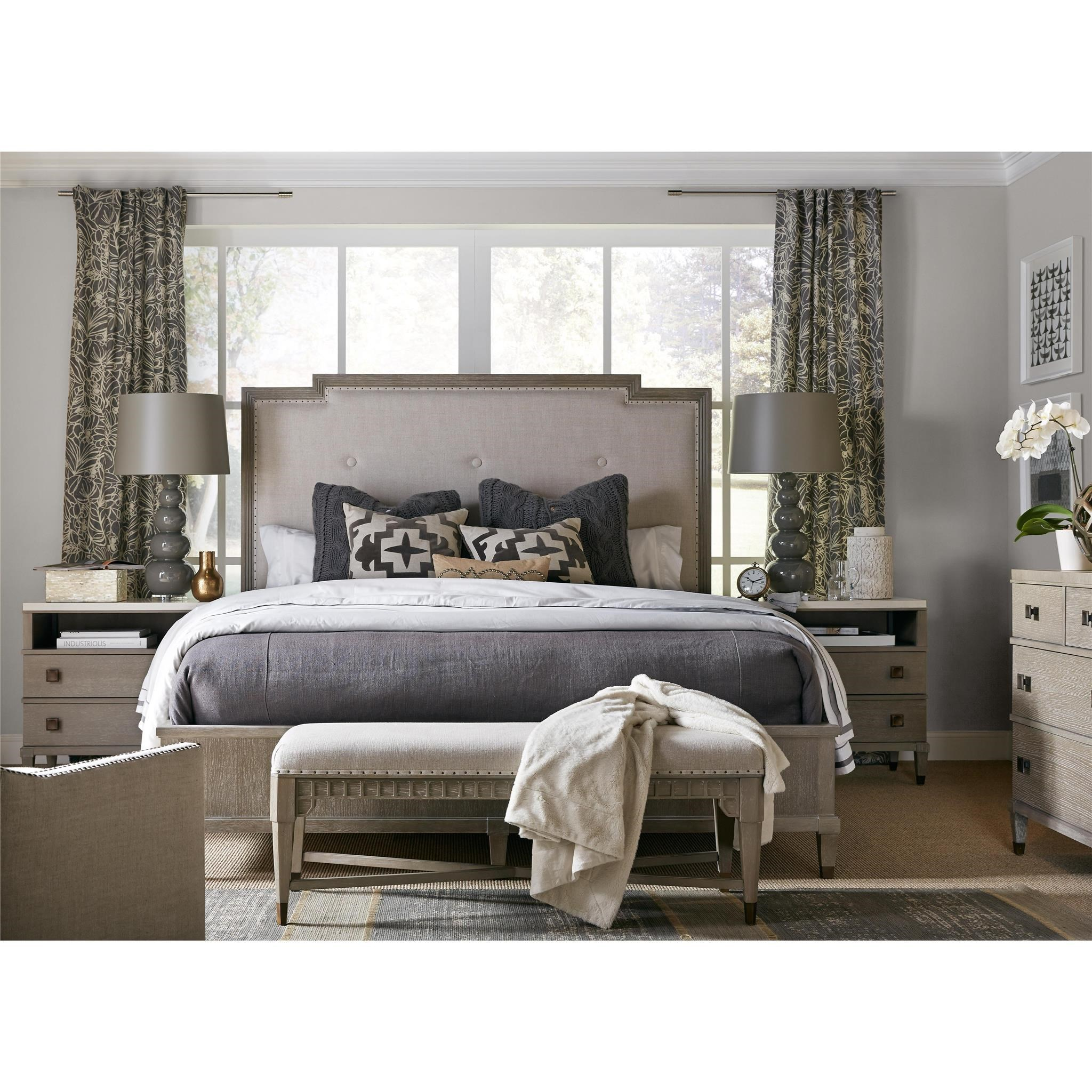 Playlist Queen Bedroom Group by Universal at Esprit Decor Home Furnishings