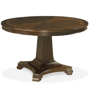 Universal Proximity Round Pedestal Dining Table