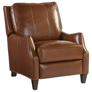 Lewis Power Recliner with Nail Head Trim
