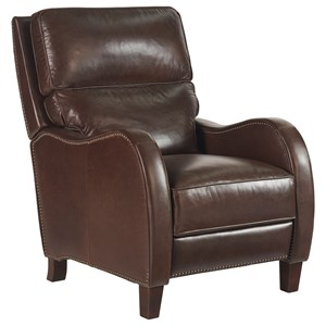 The Rodgers Recliner with Nail Head Trim