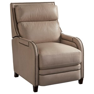 The Montana Power Recliner with Nail Head Trim