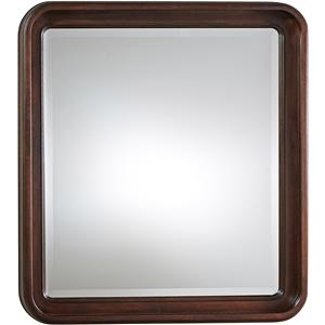Dresser Mirror with Rounded Edge