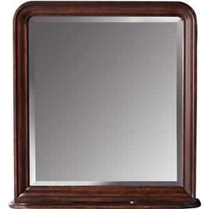 Storage Mirror with Left and Right Sliding Hidden Compartments