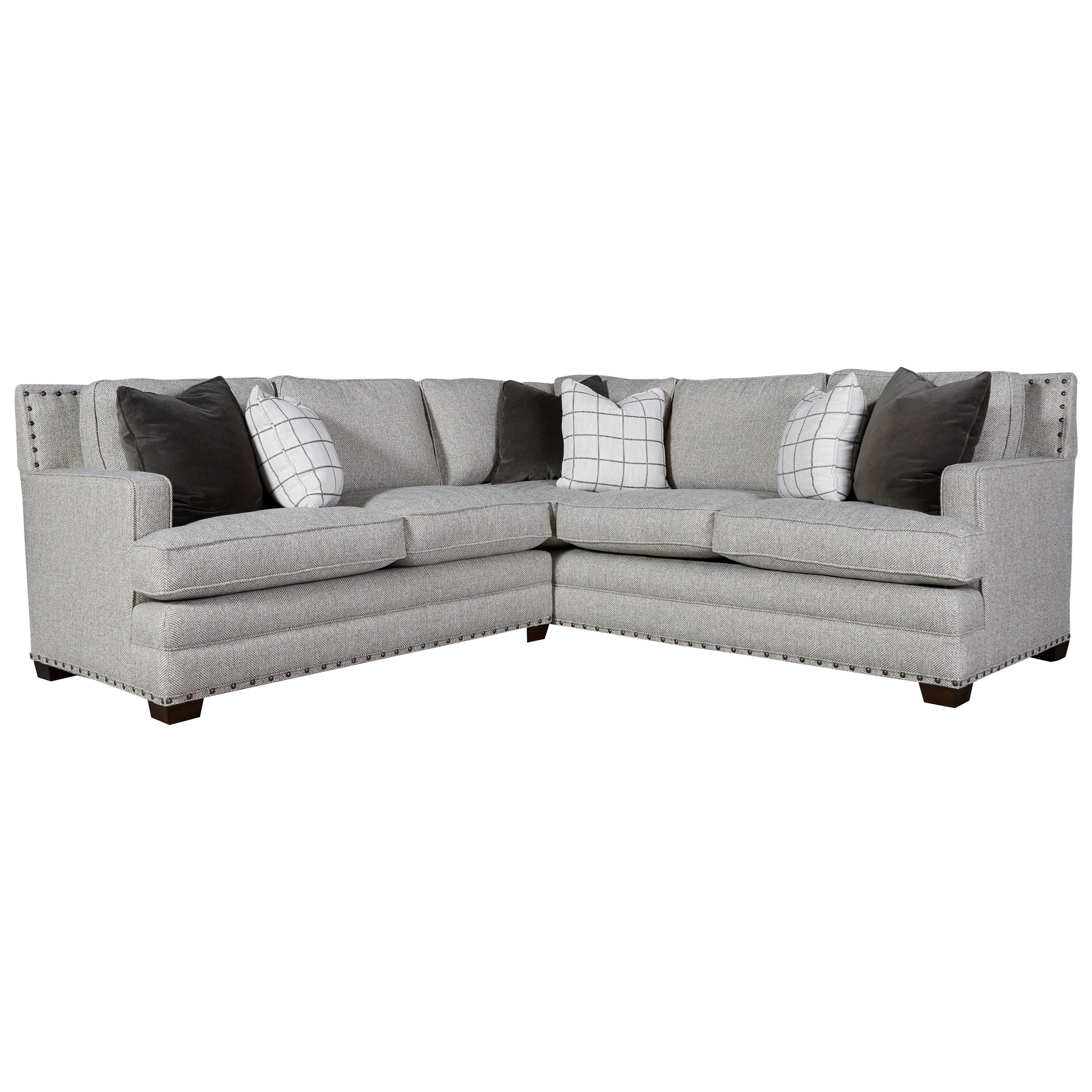 Riley Sectional Sofa by Universal at Zak's Home