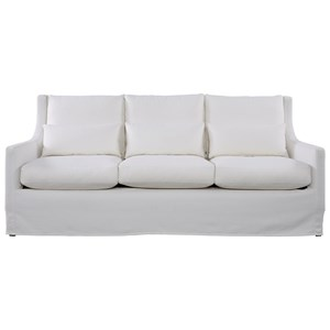 Casual Sofa with Scoop Arms