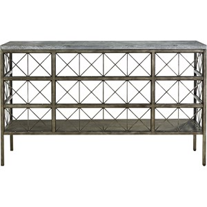 Console Table with Bluestone Top