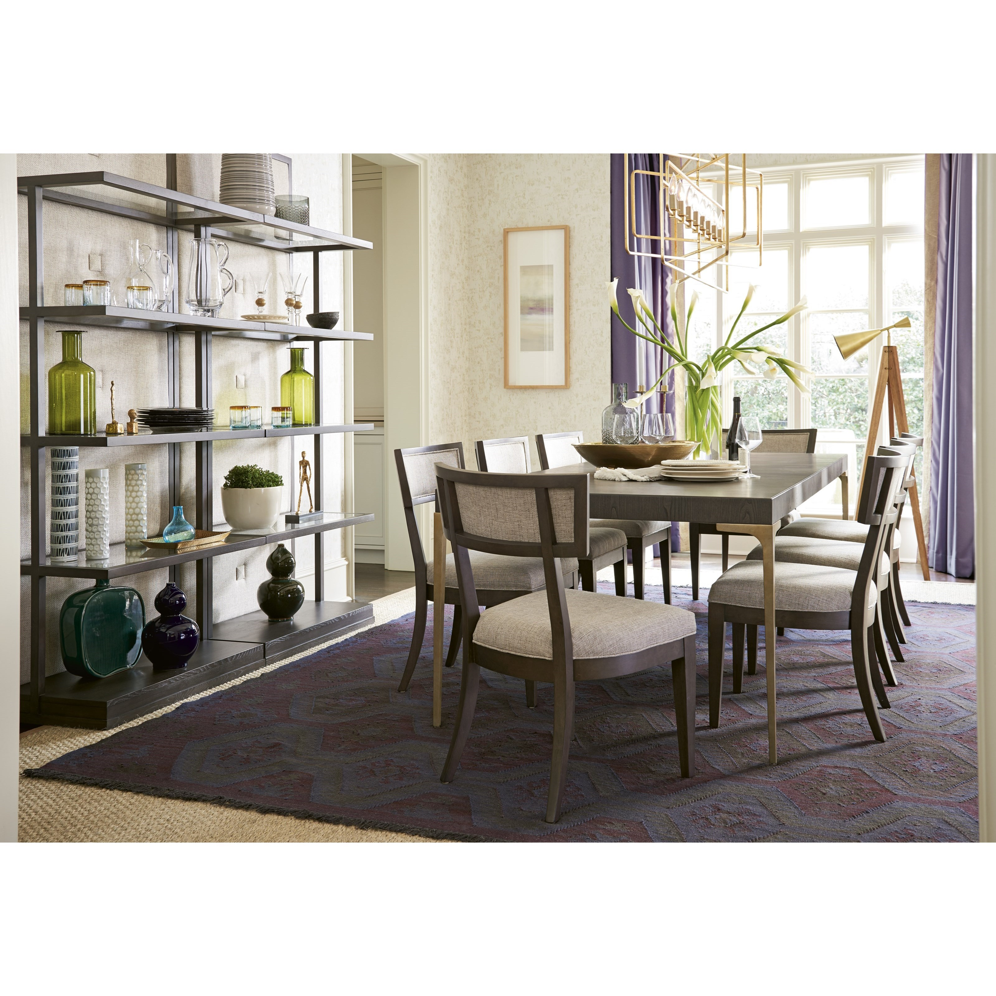 Soliloquy Formal Dining Room Group by Universal at Powell's Furniture and Mattress