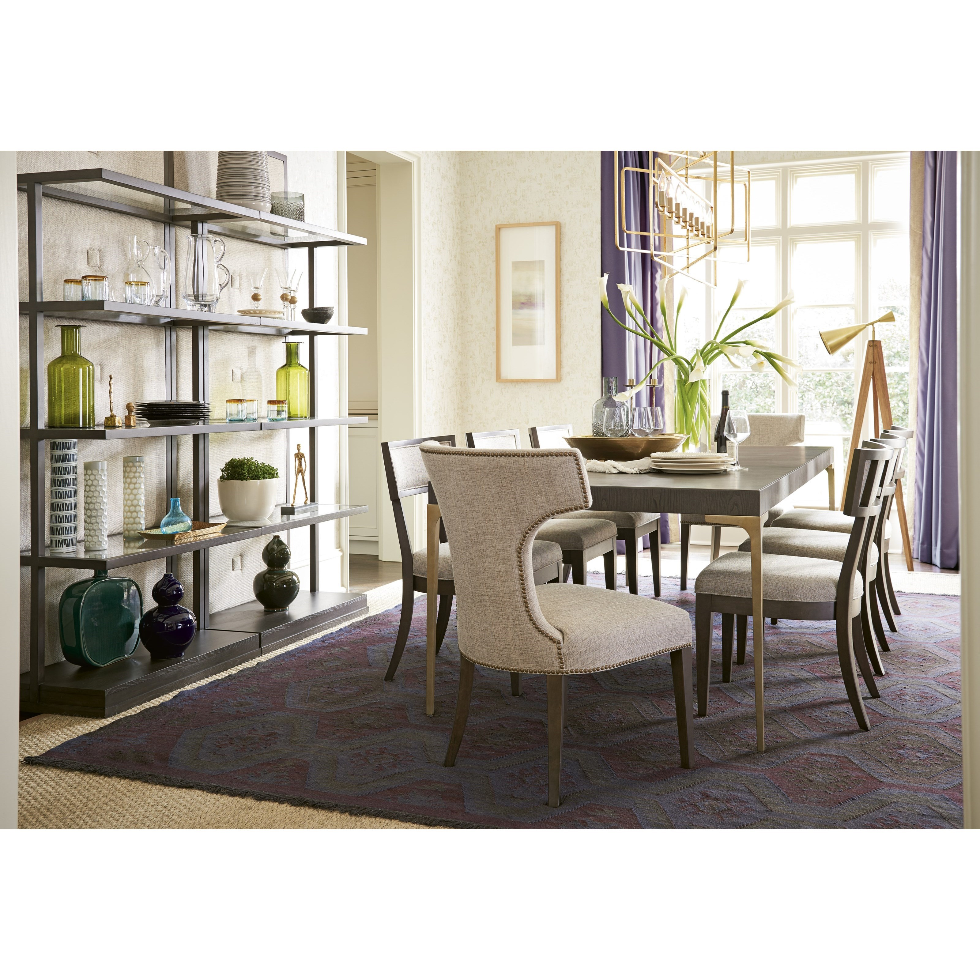 Soliloquy Formal Dining Room Group by Universal at Baer's Furniture