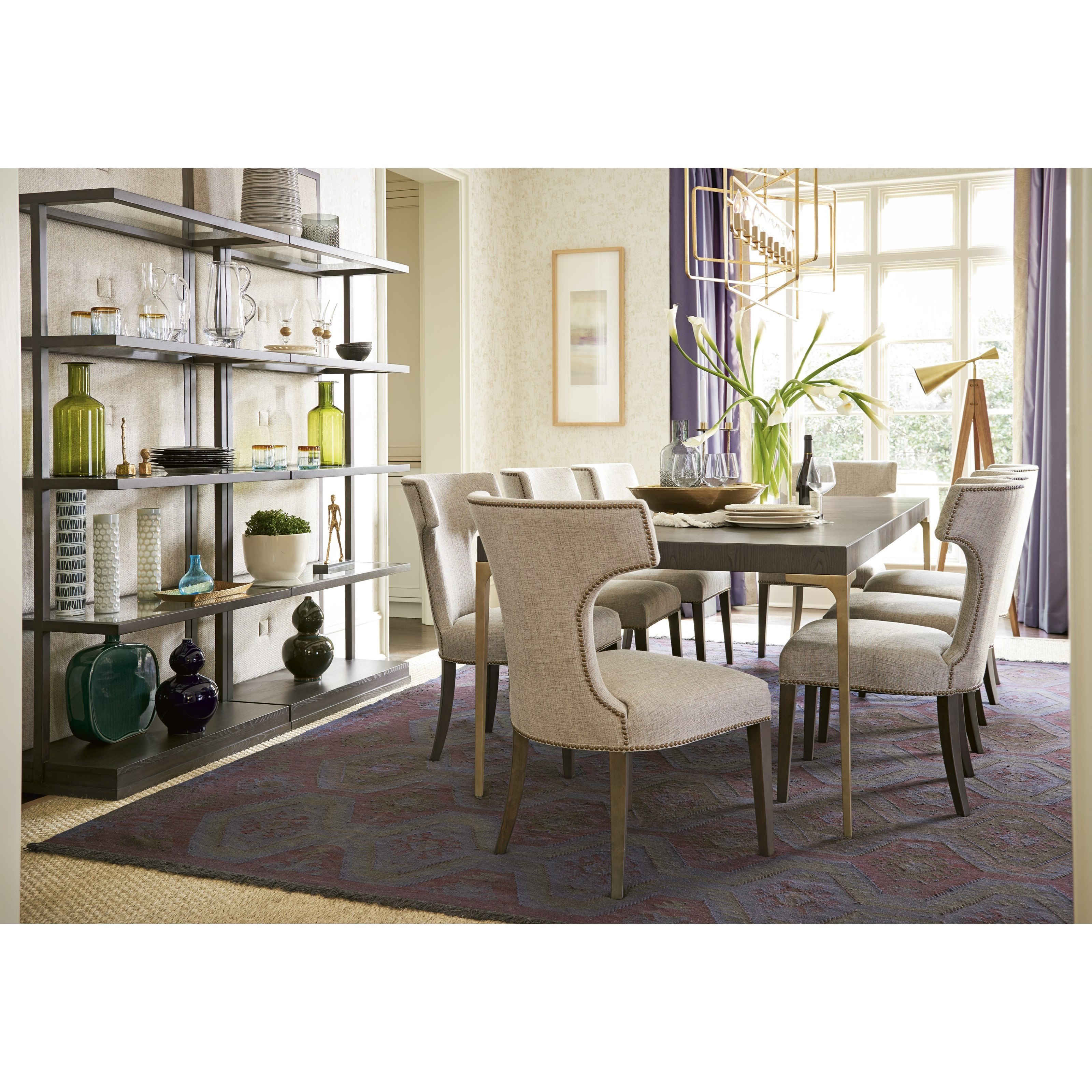 Soliloquy Formal Dining Room Group by Universal at Esprit Decor Home Furnishings