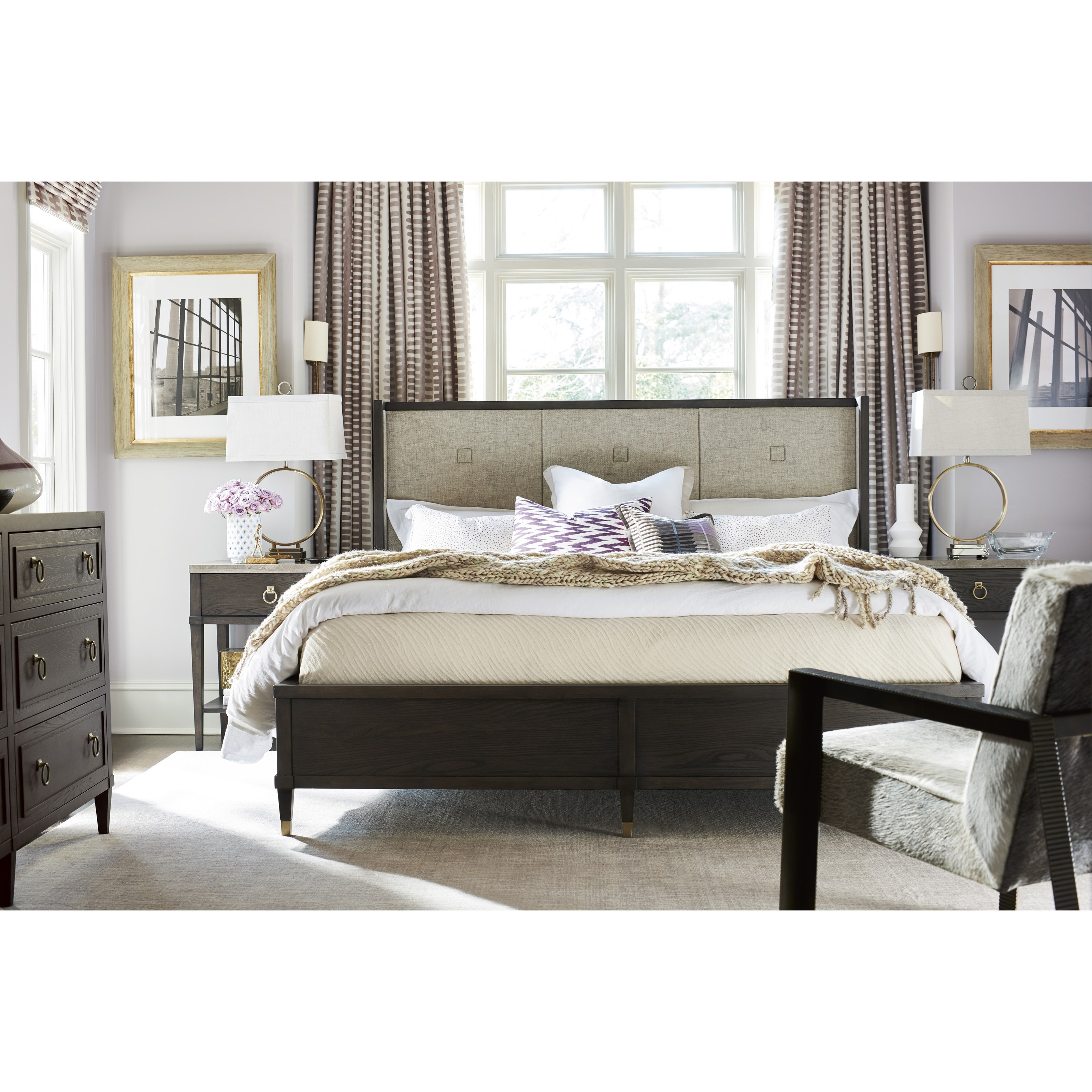 Soliloquy King Bedroom Group by Universal at Baer's Furniture