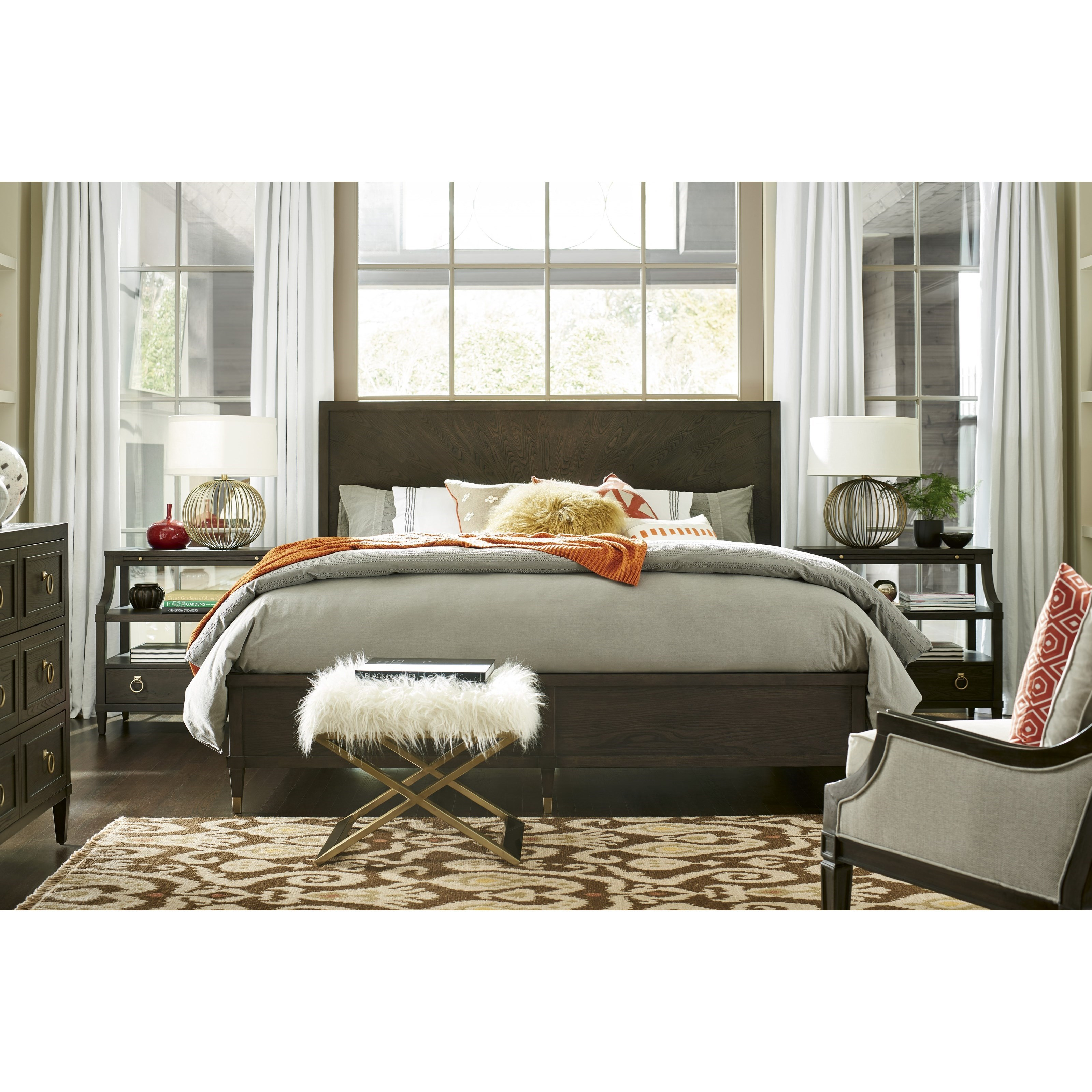 Soliloquy Queen Bedroom Group by Universal at Zak's Home