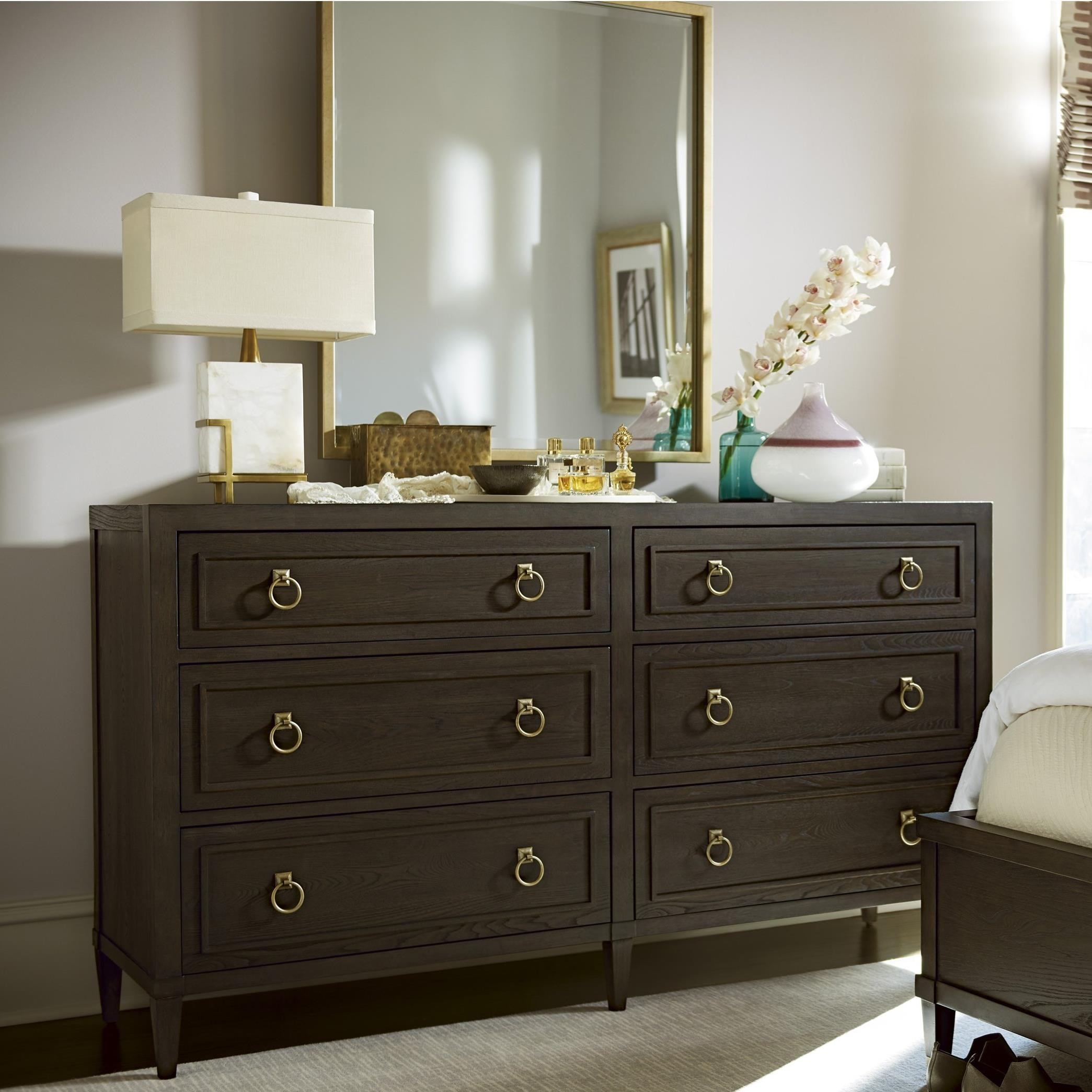 Soliloquy Dresser and Mirror Combo by Universal at Baer's Furniture
