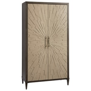 Armoire with Chanel Finished Doors