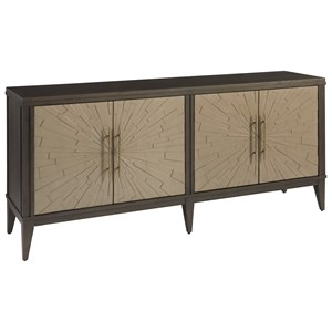 Arabella Credenza with Chanel Finished Doors