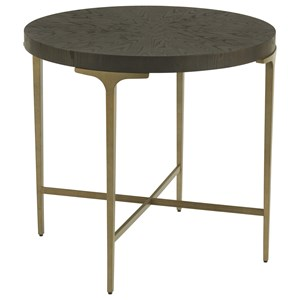 Dahlia Round End Table