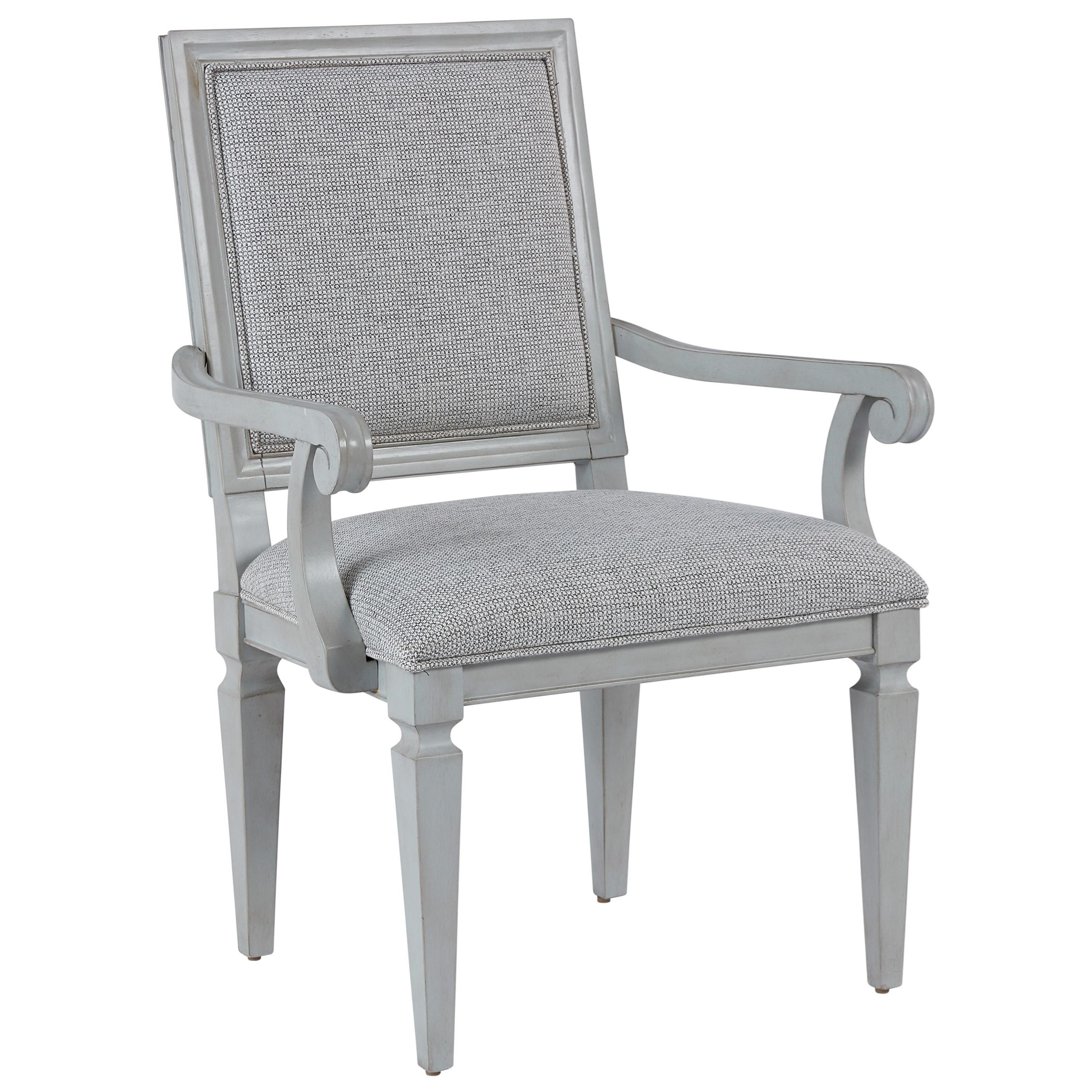 Summer Hill Woven Accent Arm Chair by Universal at Baer's Furniture