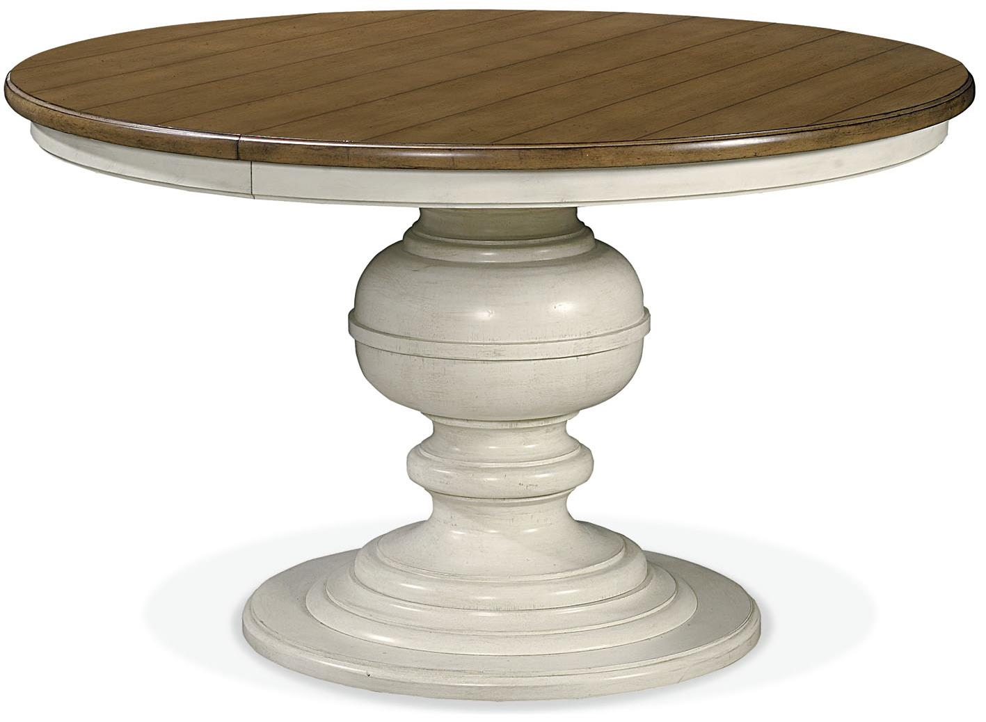 Summer Hill Round Pedestal Table by Universal at Baer's Furniture