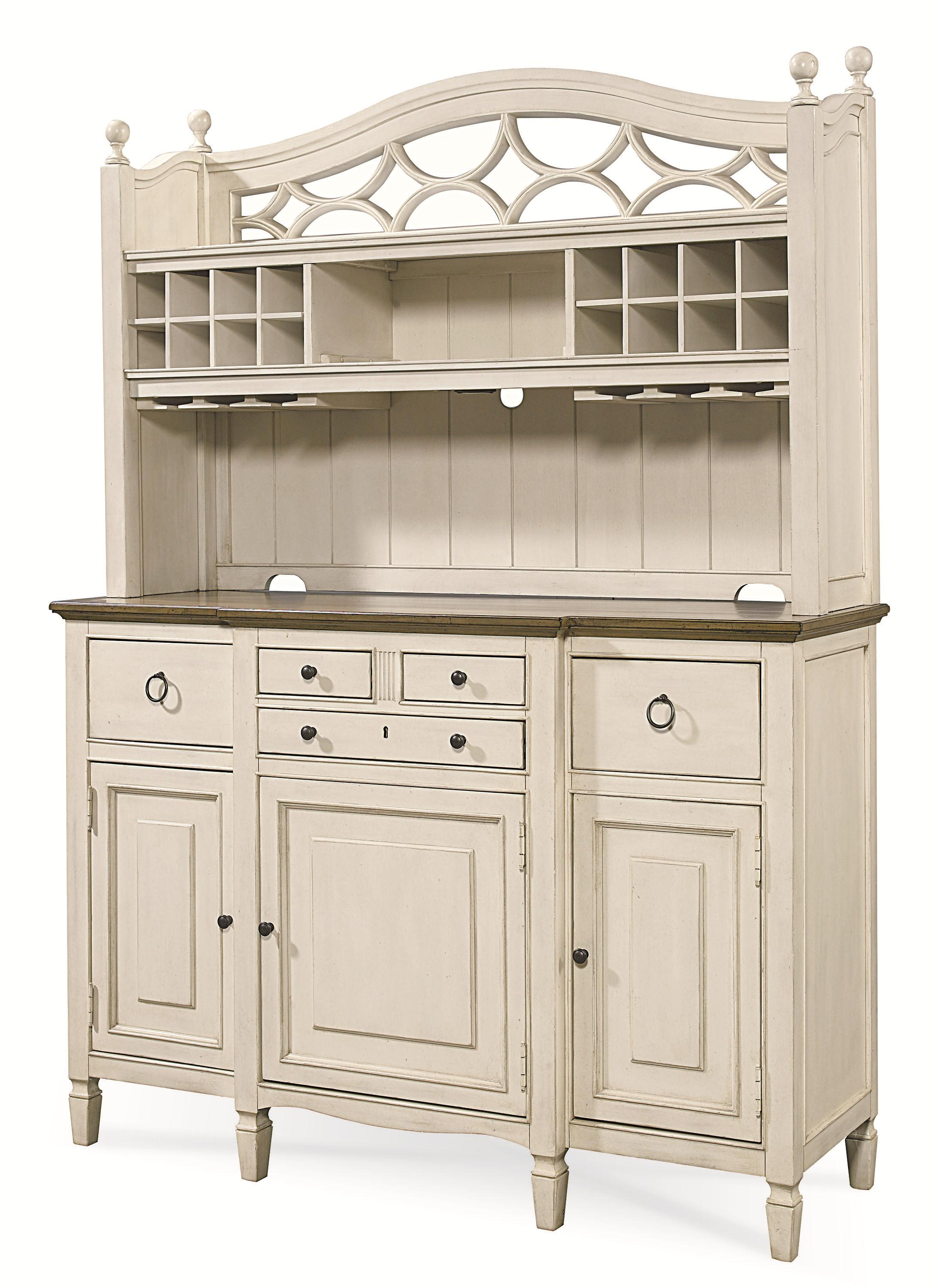 Summer Hill 2 Pc. Serving Buffet and Bar Hutch by Universal at Baer's Furniture