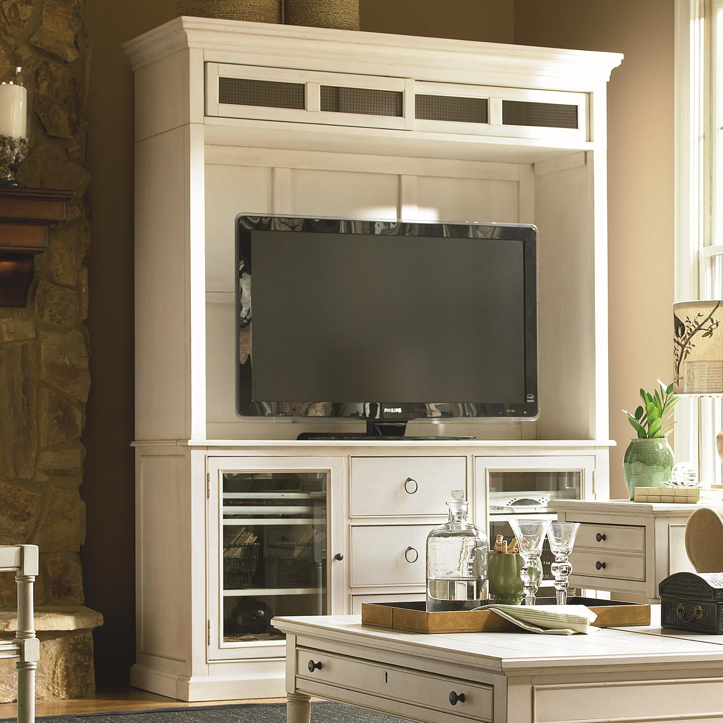 Summer Hill Entertainment Console and Deck by Universal at Baer's Furniture