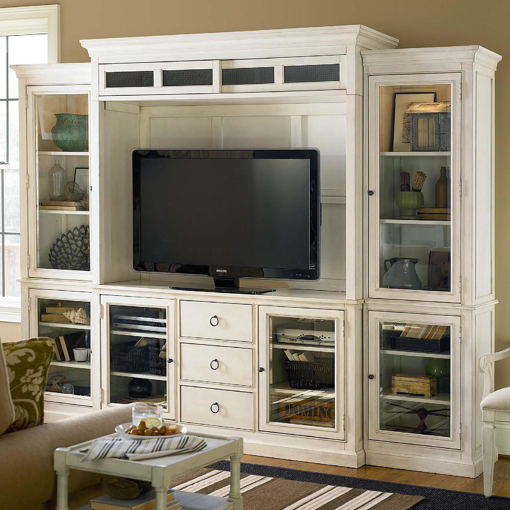 Summer Hill Entertainment Wall Unit by Universal at Stoney Creek Furniture