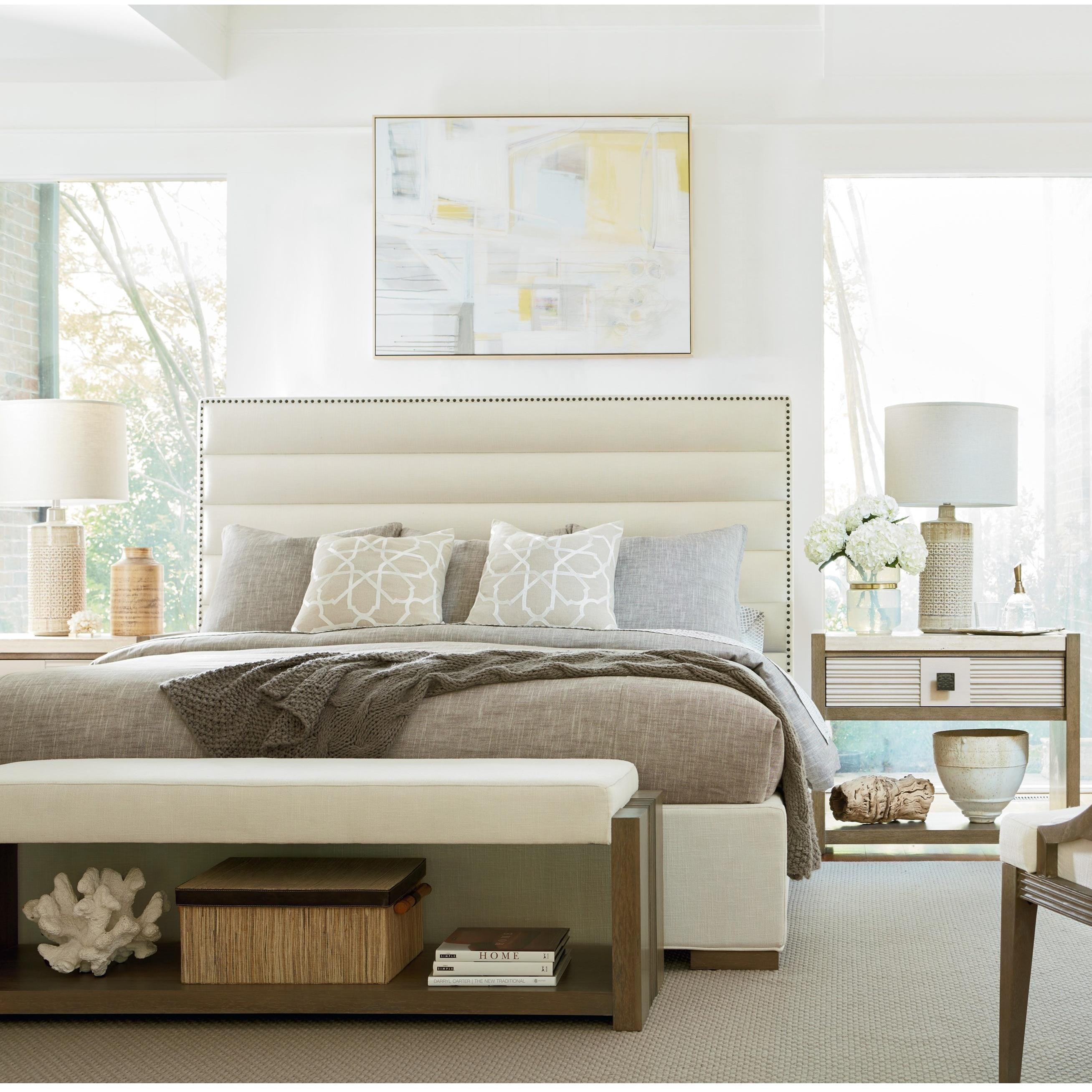 Synchronicity King Bedroom Group by Universal at Baer's Furniture