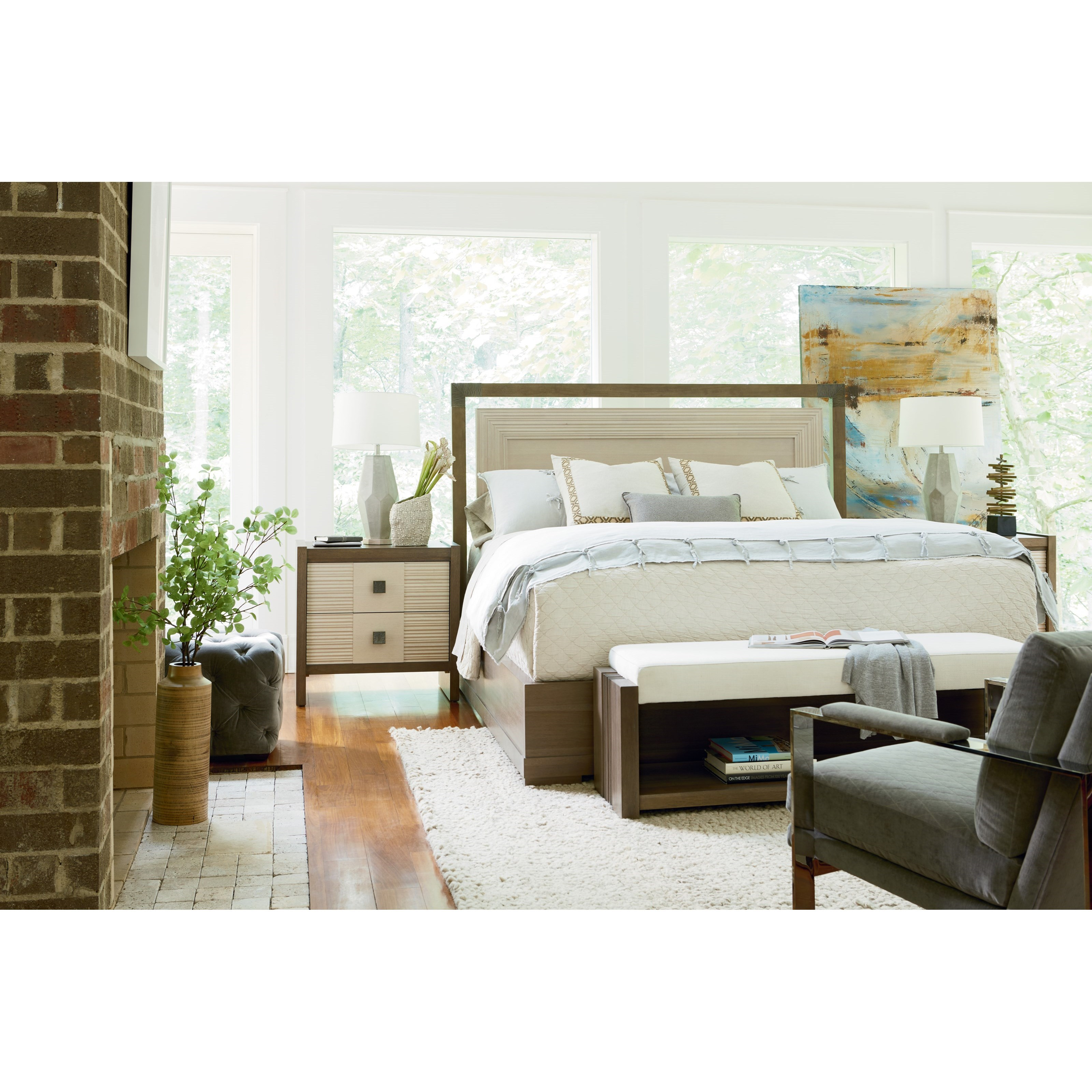 Synchronicity King Bedroom Group by O'Connor Designs at Sprintz Furniture