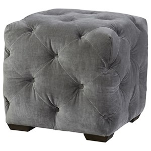 Barkley Square Tufted Ottoman