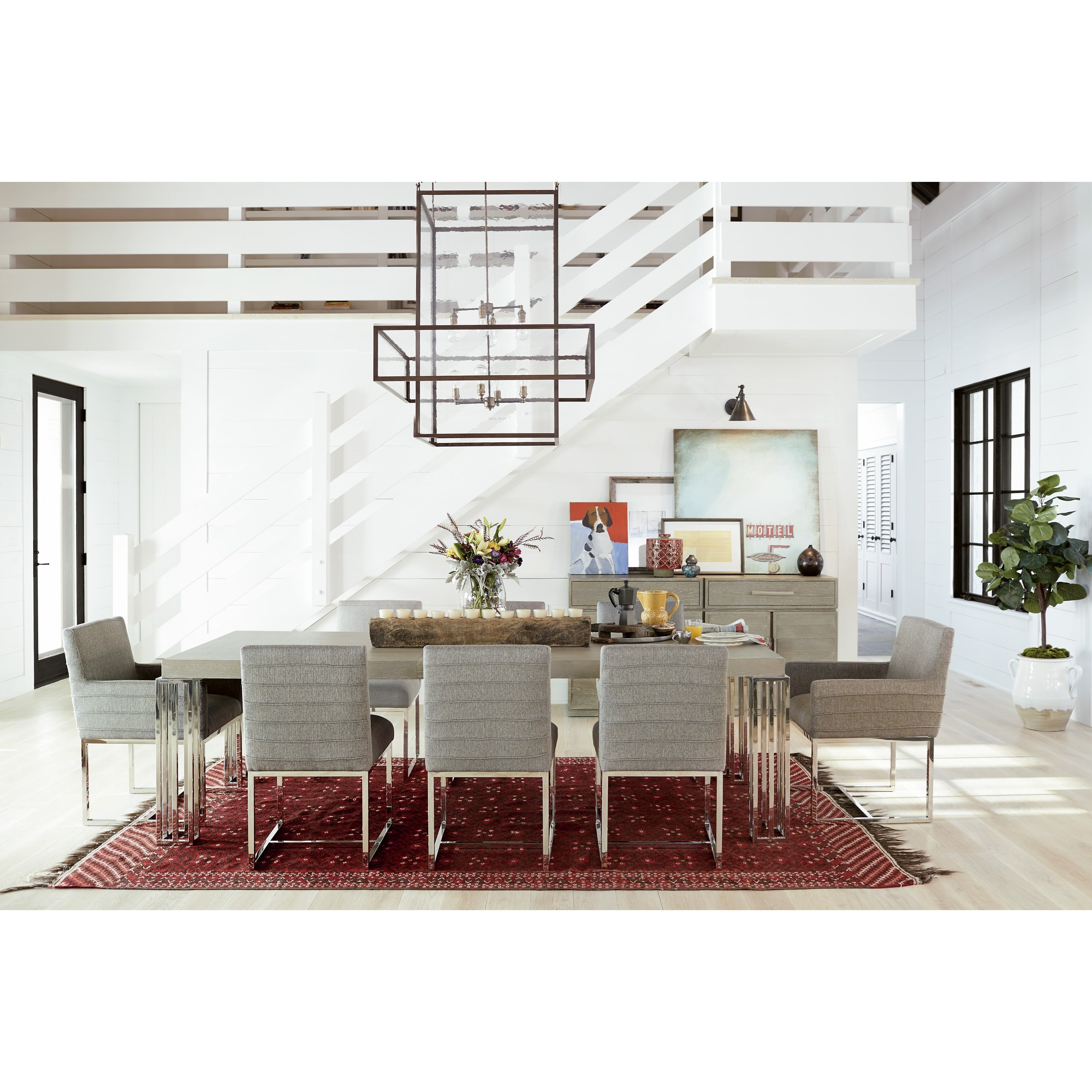 Zephyr Formal Dining Room Group by Universal at Malouf Furniture Co.