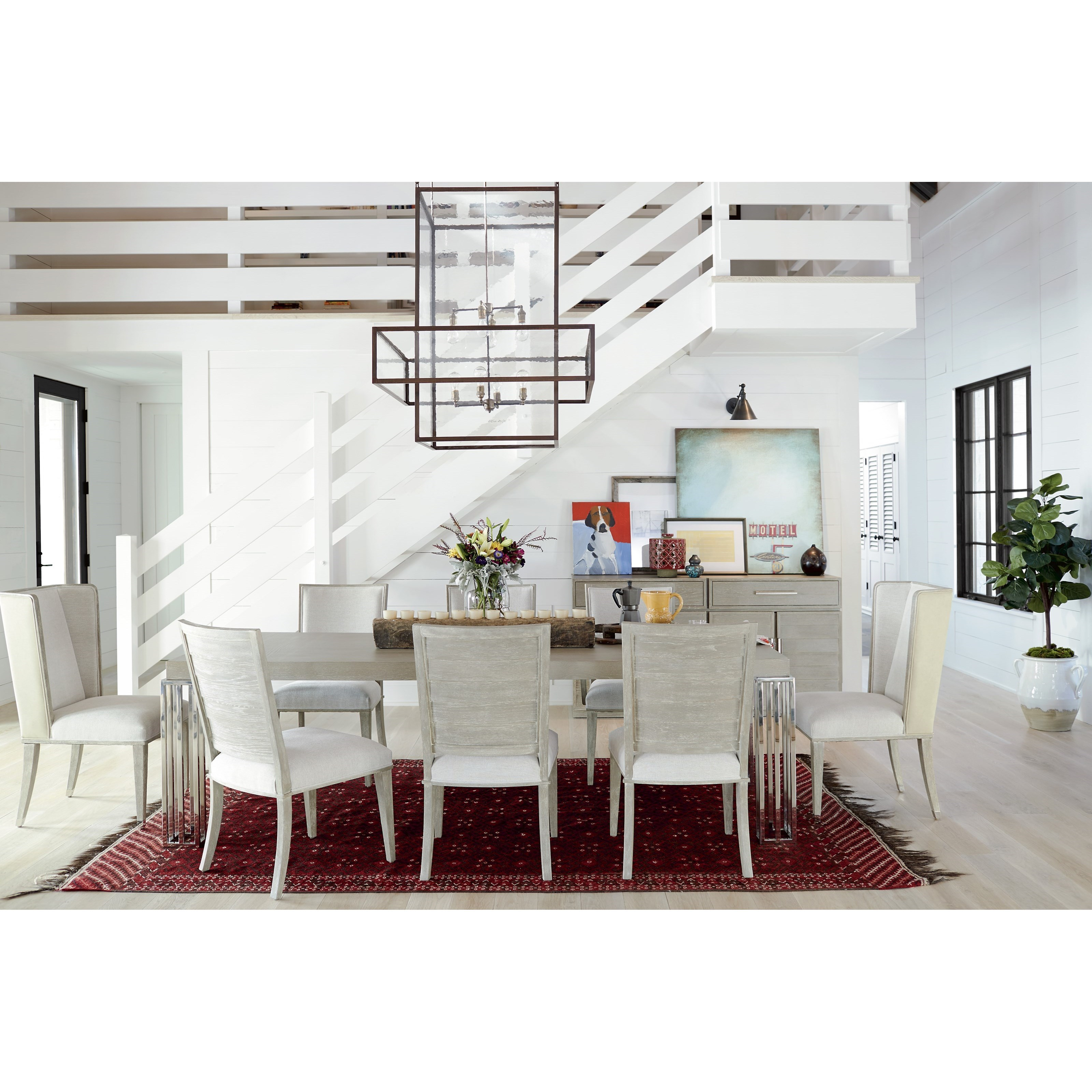 Zephyr Formal Dining Room Group by Universal at Powell's Furniture and Mattress