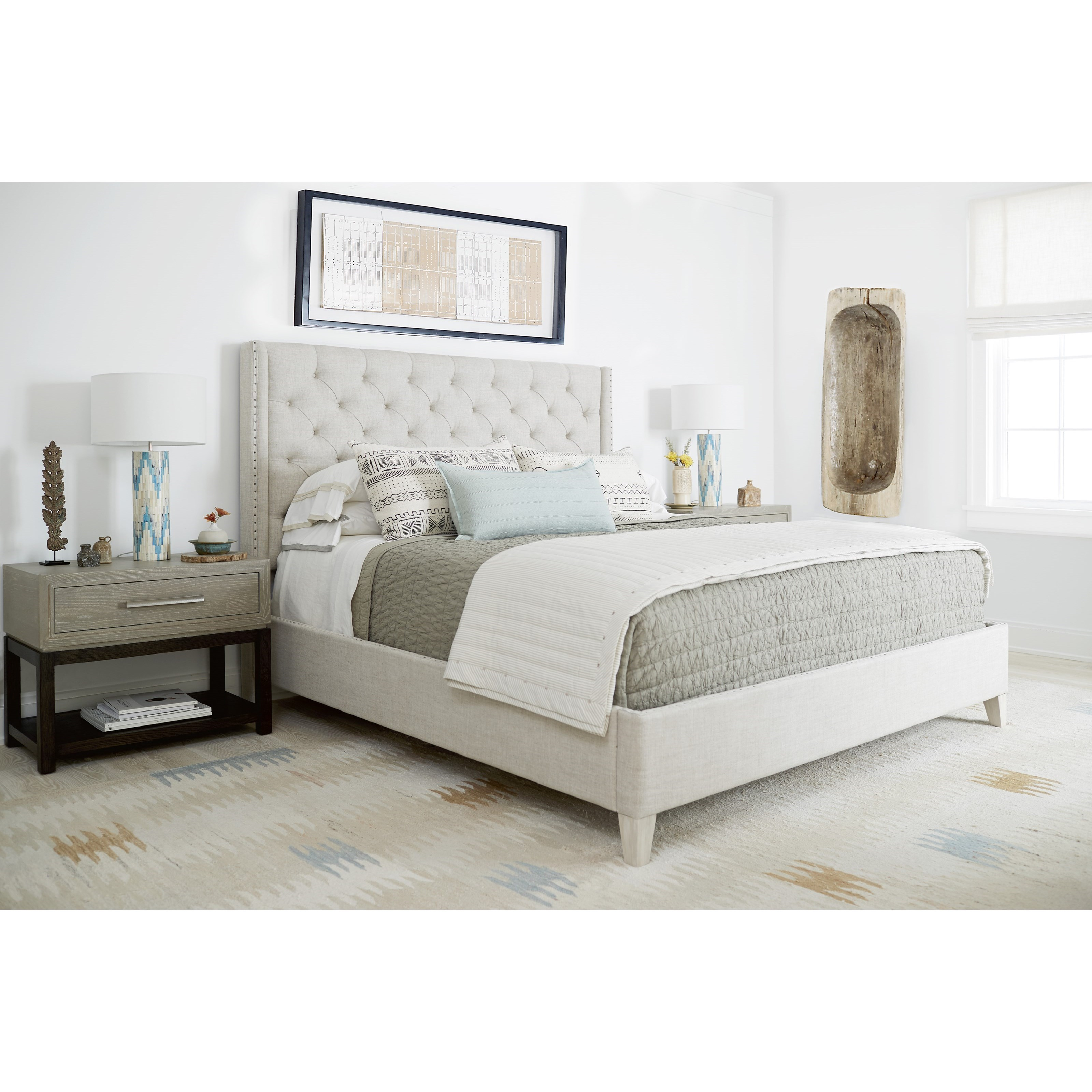 Zephyr Queen Bedroom Group by Universal at Baer's Furniture