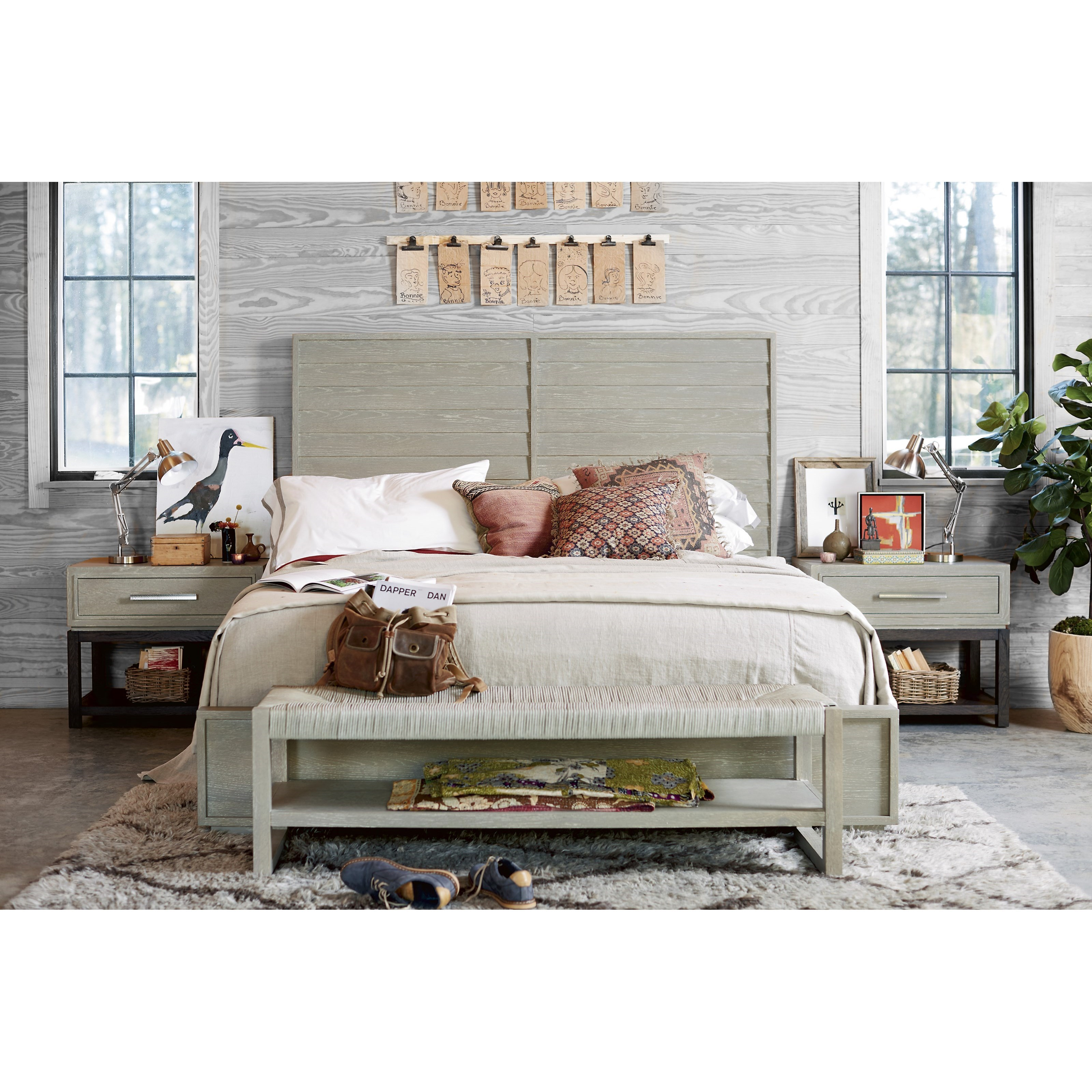 Zephyr King Bedroom Group by Universal at Zak's Home