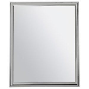 Dresser Mirror with Stainless Steel Frame