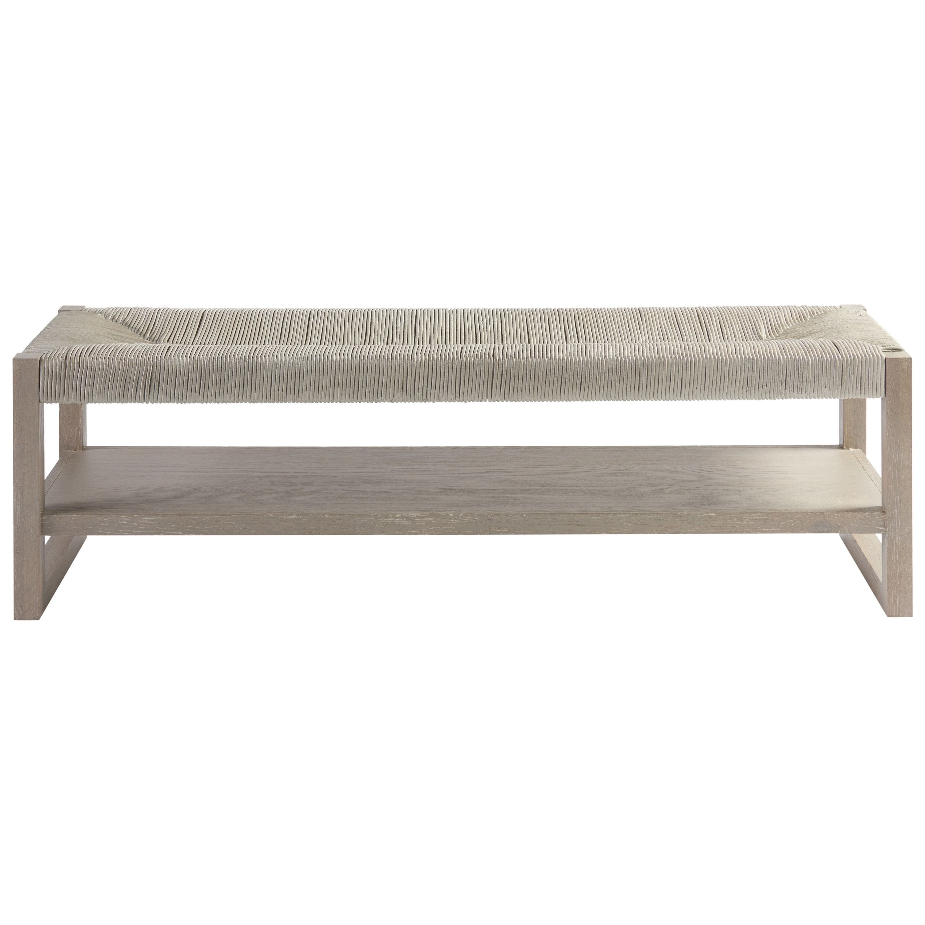 Zephyr Bed End Bench by Universal at Powell's Furniture and Mattress