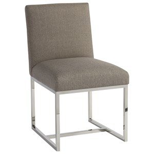 Cooper Side Chair with Polished Chrome Base
