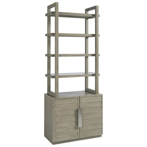 Etagere with Storage Base