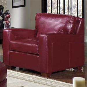 USA Premium Leather 2950 Leather Armchair